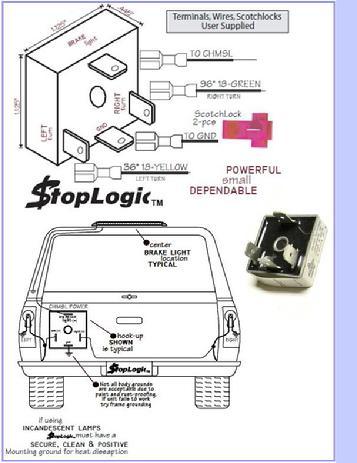 Logic Boxes For Truck Cap 3rd Brake Light Wiring